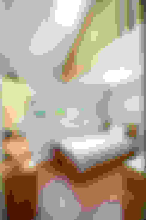 臥室 by 주택설계전문 디자인그룹 홈스타일토토