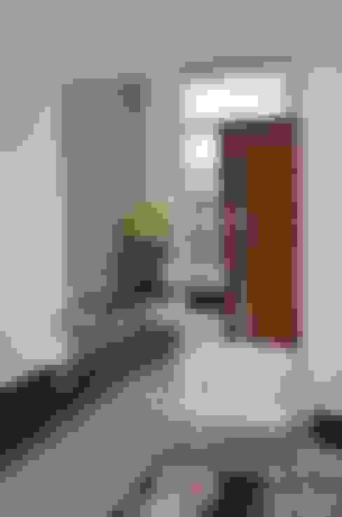 Salas / recibidores de estilo  por Cris Nunes Arquiteta