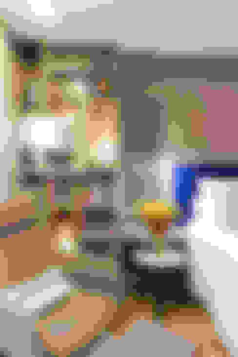 臥室 by Nogueira Arquitetura e Interiores