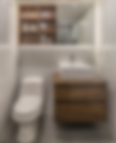 Baños de estilo  por CENTRAL ARQUITECTURA