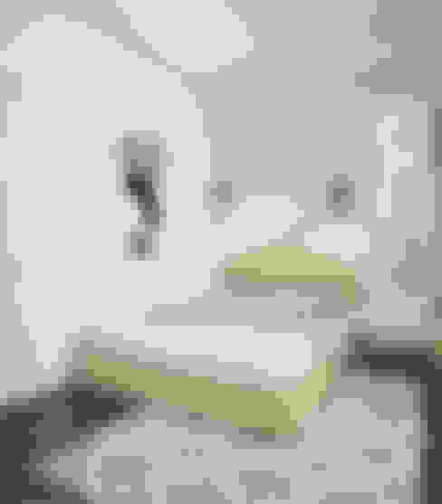 Спальня ЖК Новое Измайлово: Спальни в . Автор – Ирина Рожкова - частный дизайнер интерьера