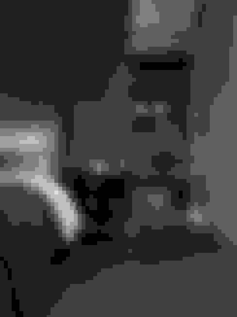 英式古典情挑:  臥室 by 大荷室內裝修設計工程有限公司