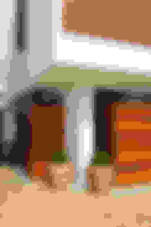 Casas de estilo  por Taguá Arquitetura