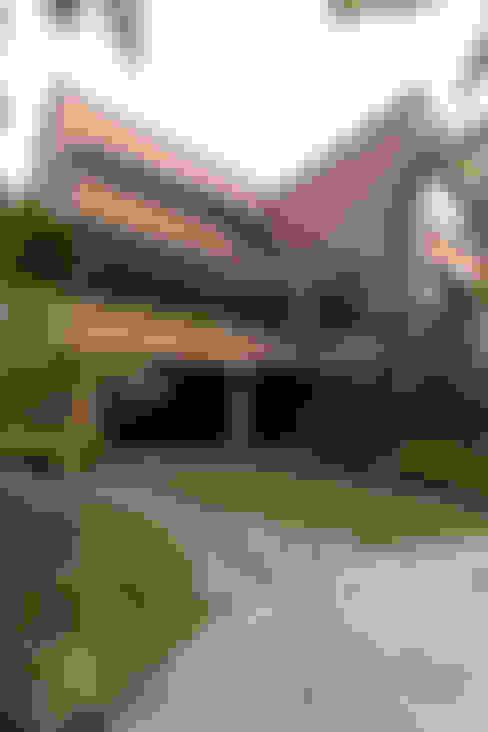 Casa 906: Terrazas de estilo  por Objetos DAC