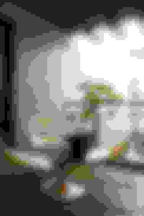 嘉義  科美建設別墅 :  露臺 by 大也設計工程有限公司 Dal DesignGroup