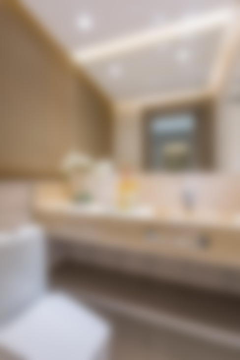 حمام تنفيذ Juliana Agner Arquitetura e Interiores