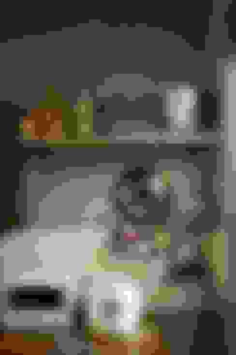 舊木層架:  廚房 by 日常鉄件製作所