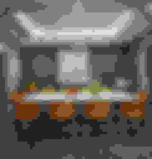 صالة طعام:  غرفة السفرة تنفيذ Accurate Curves