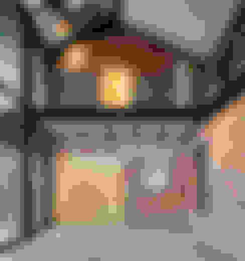 Гостиная в . Автор – (주)건축사사무소 모도건축