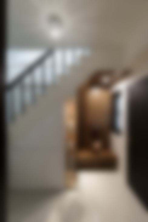 Corridor & hallway by 橡樹設計Oak Design