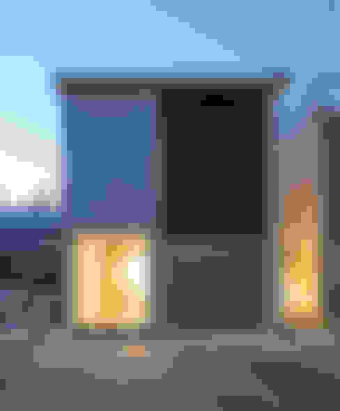 風景のある家.LLC의  일세대용 주택