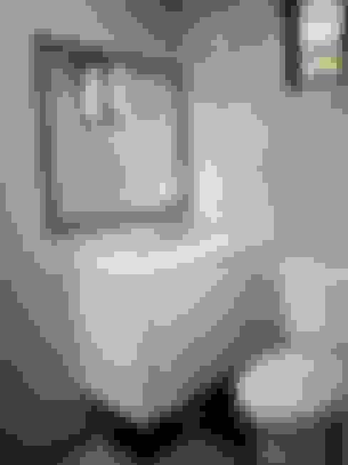 客製化的移動宅:  浴室 by 築地岩移動宅