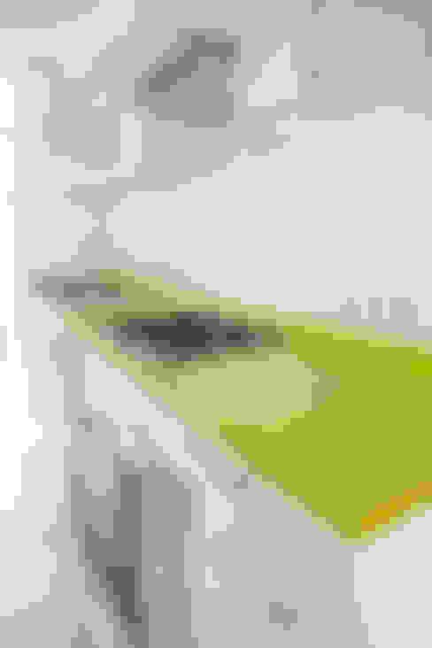 Remodelación Cocina Depto Dalia: Cocinas de estilo  por ARCOP Arquitectura & Construcción