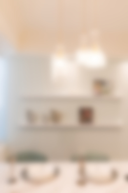 文山高公館:  廚房 by VH INTERIOR DESIGN