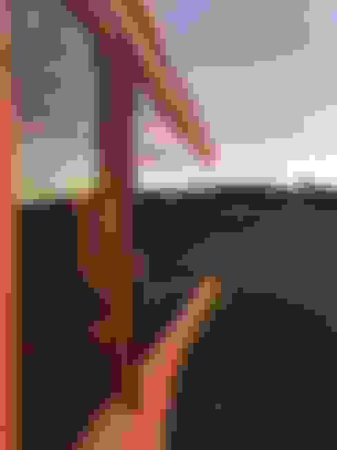 Ventana paisaje: Casas de estilo  por Área Urbana Arquitectos SpA