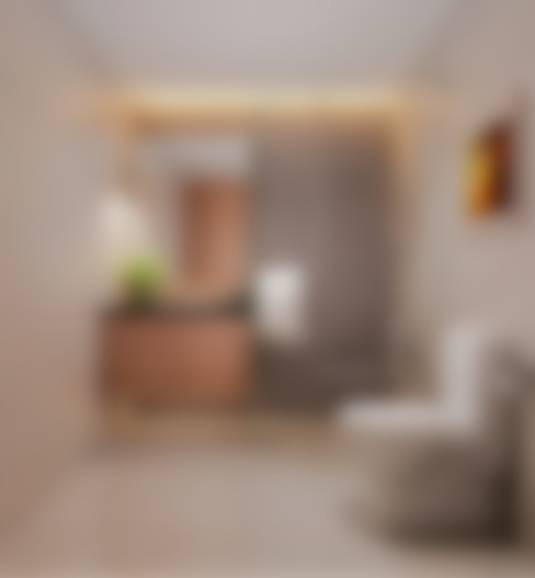Nội thất phòng tắm không quá cầu kỳ nhưng rất tiện nghi.:  Phòng tắm by Công ty TNHH Thiết Kế Xây Dựng Song Phát