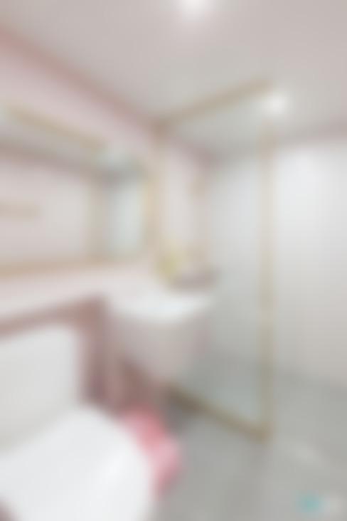 Bathroom by 디자인투플라이