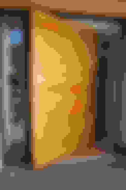 أبواب خشبية تنفيذ Camel Glass