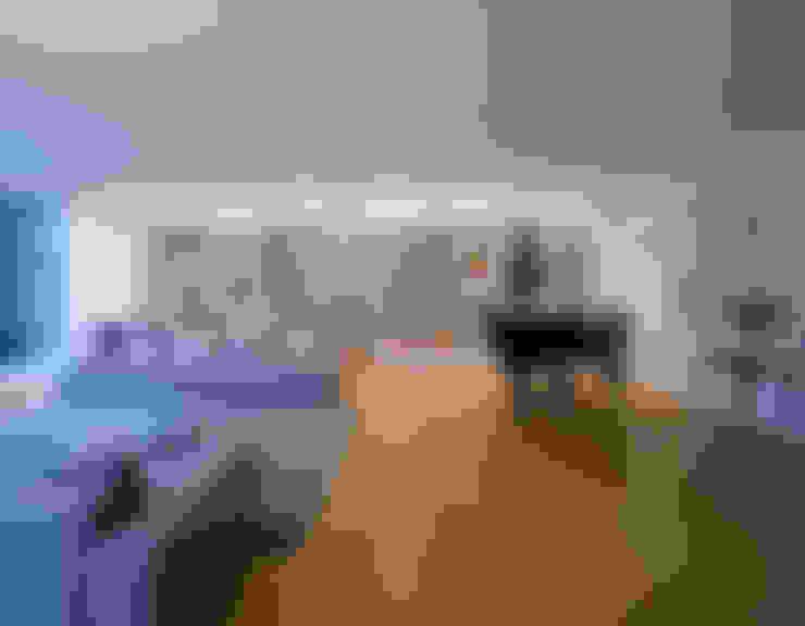 غرفة المعيشة تنفيذ Architektur & Interior Design