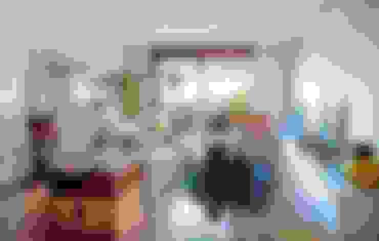 غرفة المعيشة تنفيذ decoraCCion