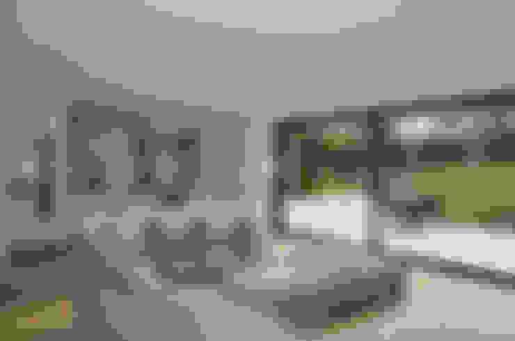 Wohnzimmer von Gregory Phillips Architects