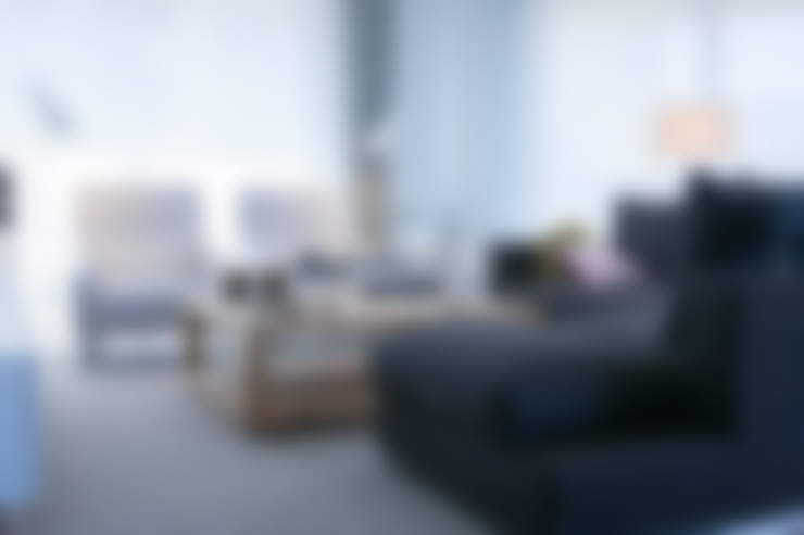 غرفة المعيشة تنفيذ Urbana Interiorismo
