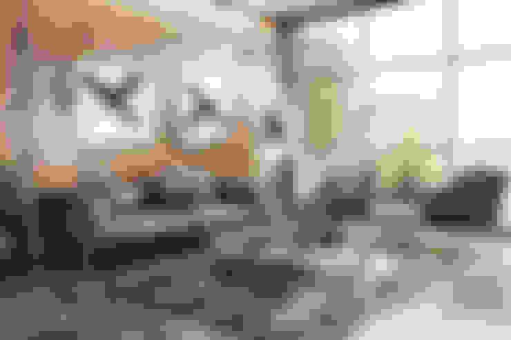 Paisajismo de interiores de estilo  de WHITE ROOM DESIGN