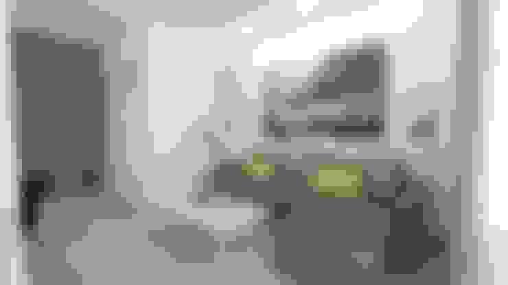 Salas de estar  por WNĘTRZNOŚCI Projektowanie wnętrz i mebli