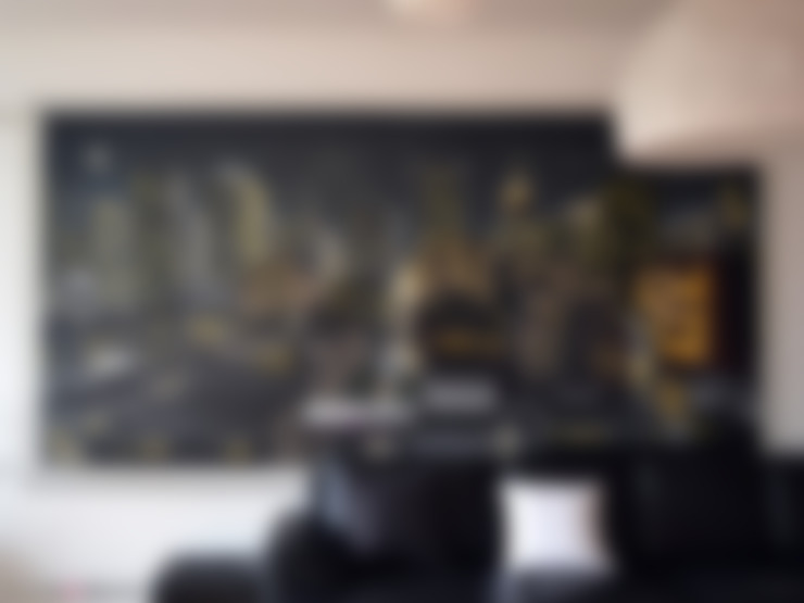 Living room by Lyonbombing