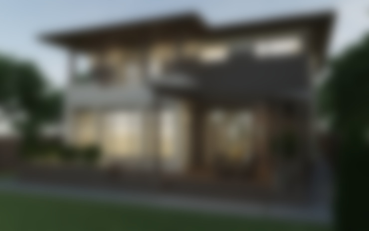 Задний фасад дома с террасой: Дома в . Автор – studio forma