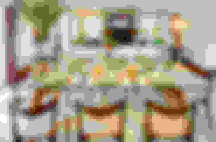 Salas de jantar  por Maria Christina Rinaldi Arquitetos