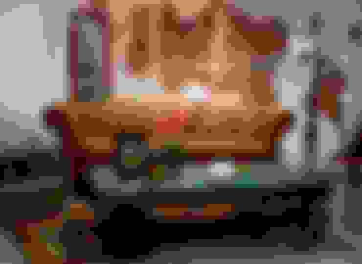 Living room تنفيذ Noelia Ünik Designs