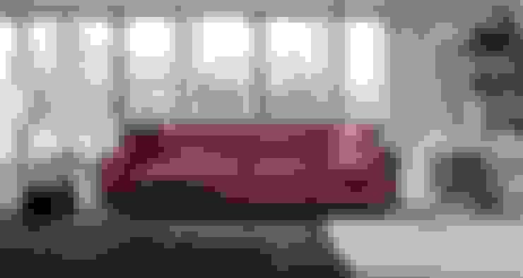 Living room by Ámbar Muebles