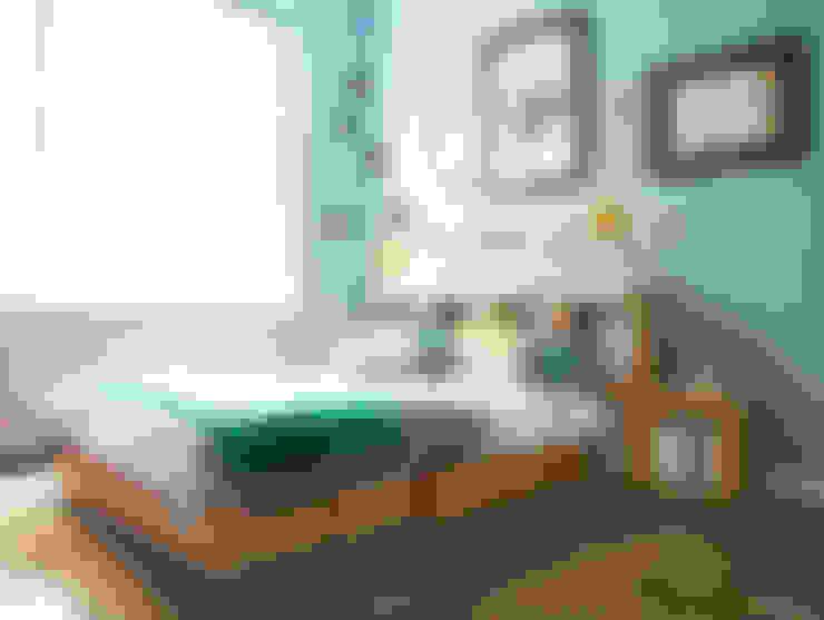 غرفة نوم تنفيذ Stange Design