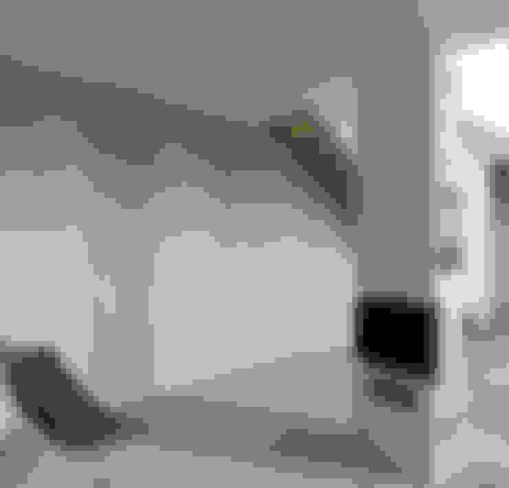 Woonkamer door boehning_zalenga  koopX architekten in Berlin
