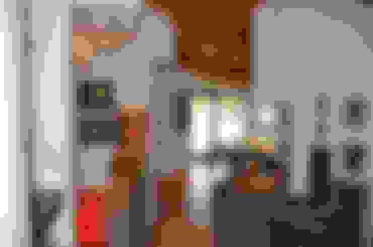 Interior design villa.: Soggiorno in stile  di F_Studio+ dell'Arch. Davide Friso