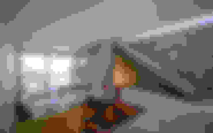 غرفة المعيشة تنفيذ Estudio A+3