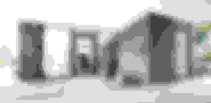 Salas / recibidores de estilo  por HBA-rchitects
