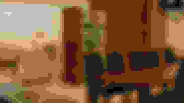 Salas de jantar  por NIVEL TRES ARQUITECTURA