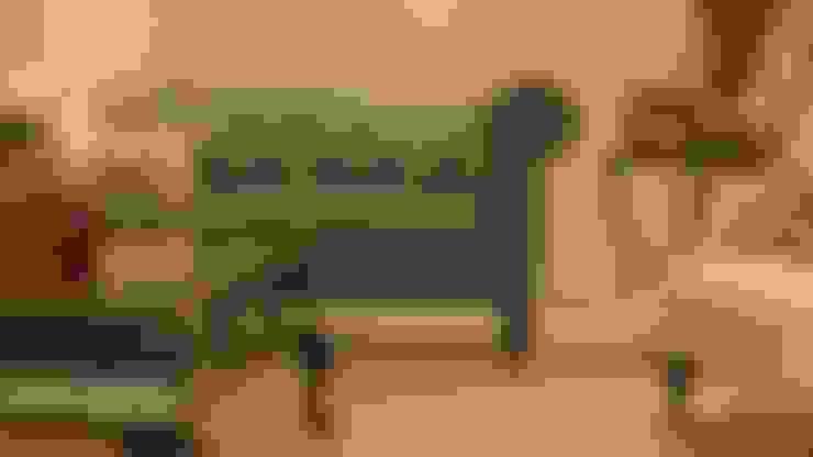 Salon de style  par NIVEL TRES ARQUITECTURA