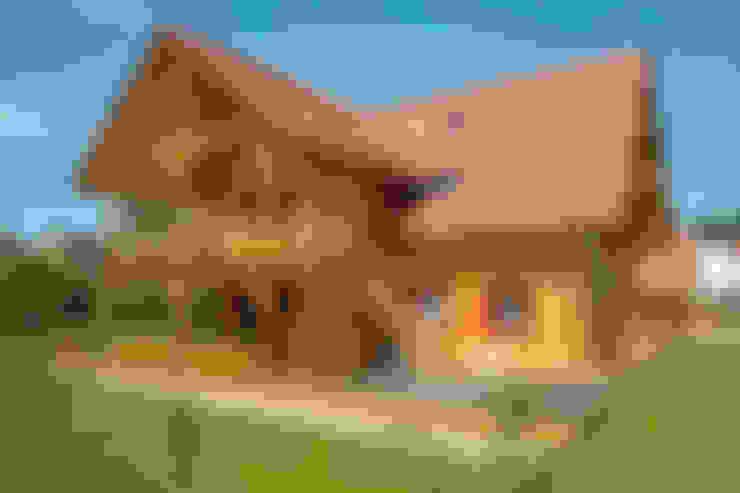 Casas de estilo  por BayernBlock - HultaHaus