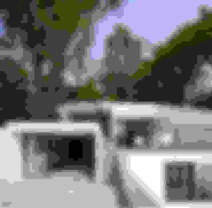 Casa con vista: Casas de estilo  por Dellekamp Arquitectos