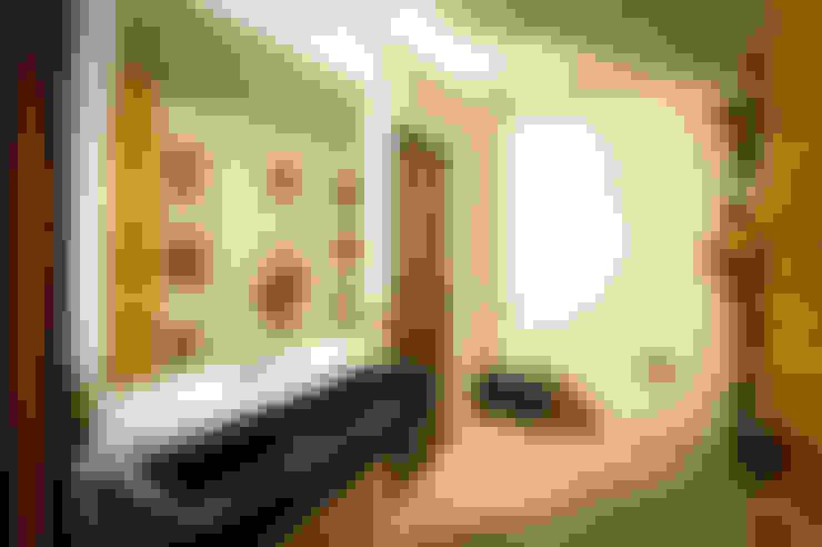Baños de estilo  por P+0 Arquitectura