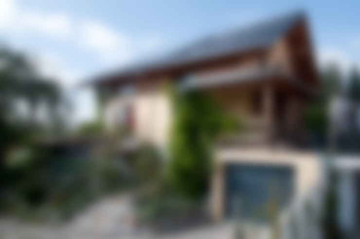 Дома в . Автор – BayernBlock - HultaHaus