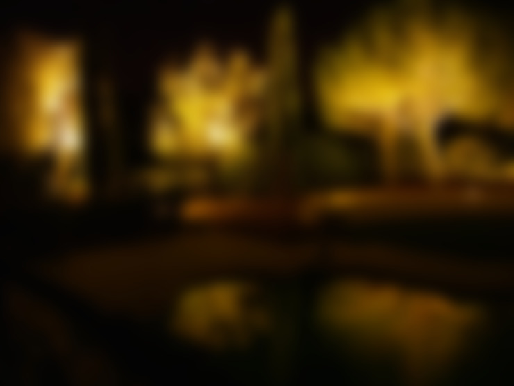 Jardines de estilo  por Cannata&Partners Lighting Design