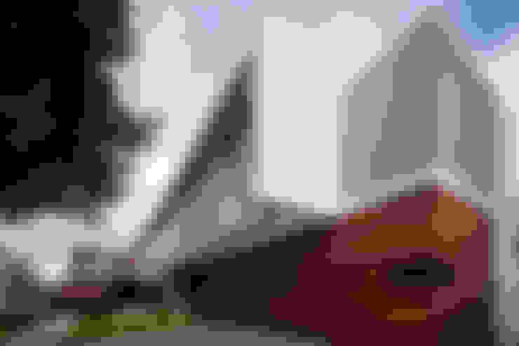 Casas de estilo  por Hernandez Silva Arquitectos