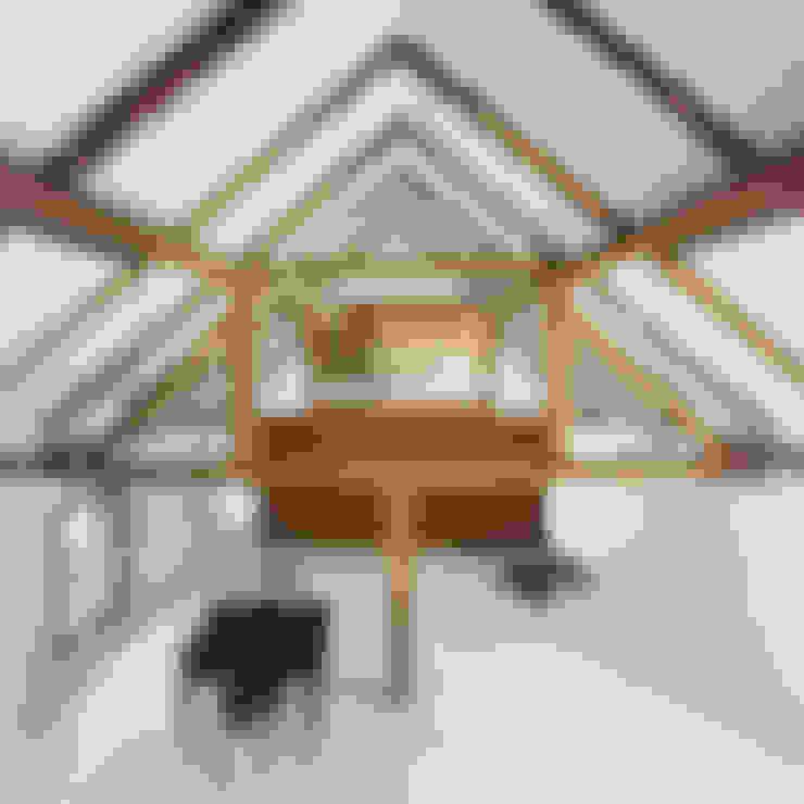 Living room by JAN RÖSLER ARCHITEKTEN