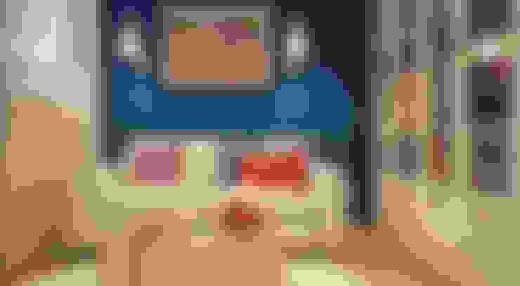 غرفة المعيشة تنفيذ «Студия 3.14»