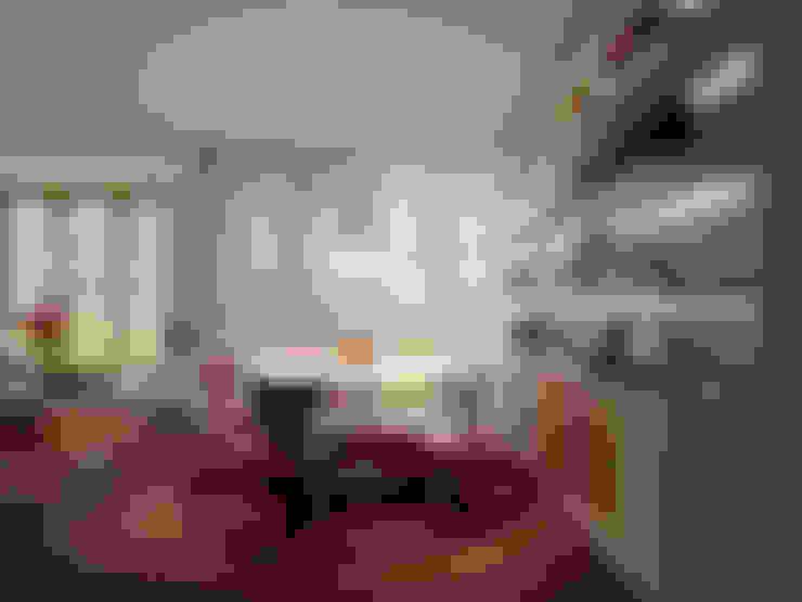 غرفة السفرة تنفيذ atelier blur / georges hung architecte d.p.l.g.