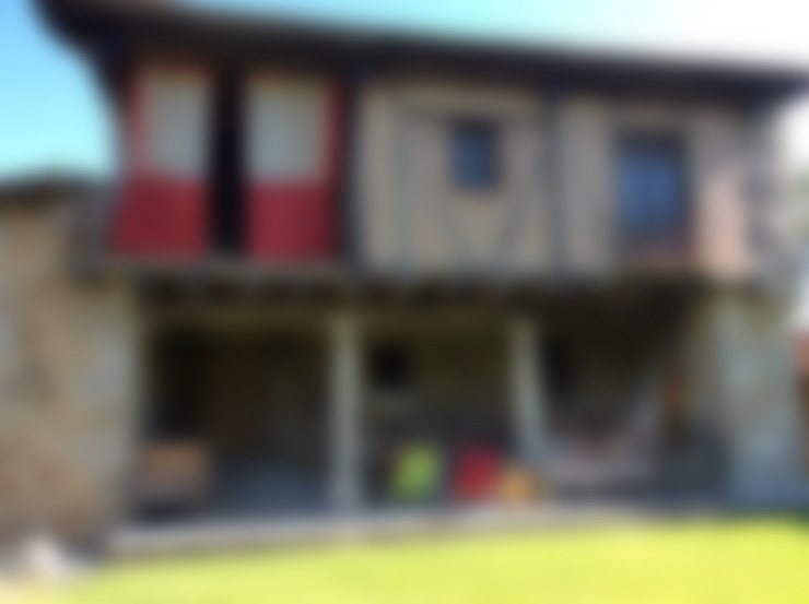 Casas de estilo  por Anticuable.com